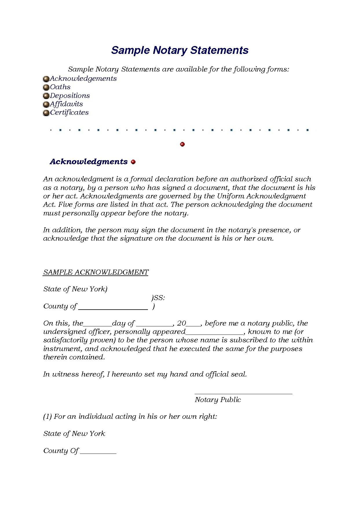 Notary Public Forms Washington State