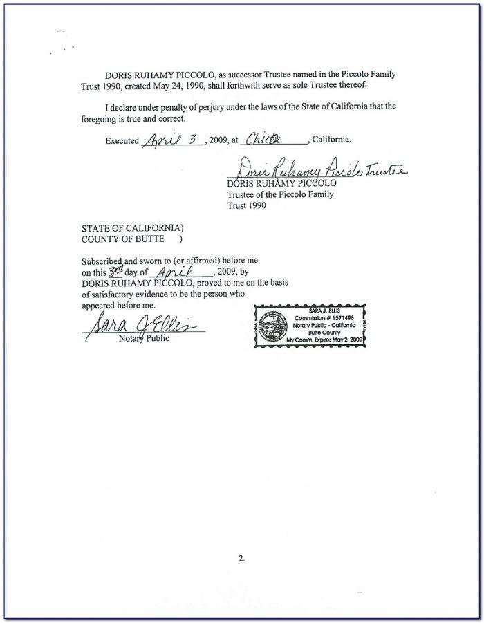 Notary Renewal Form Nc