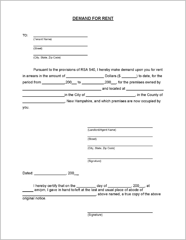 Notice To Terminate Tenancy Form Alberta