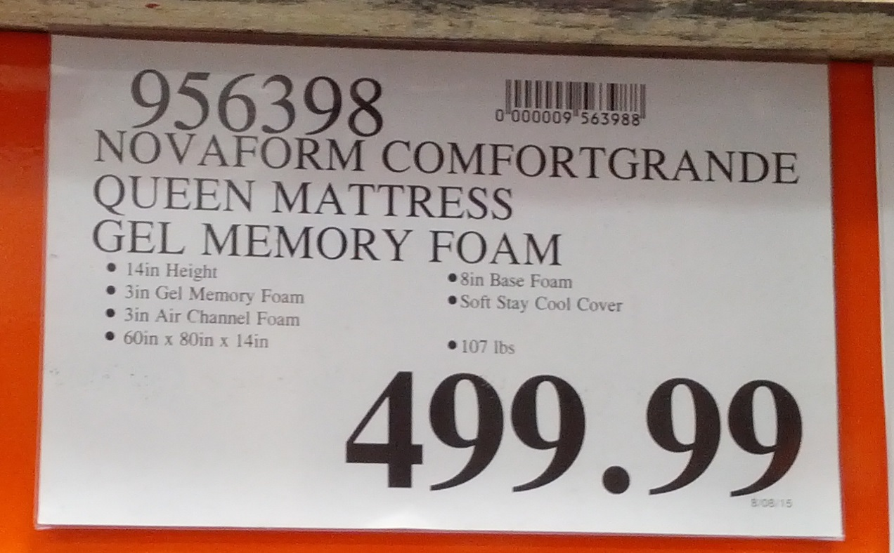 Novaform Queen Mattress