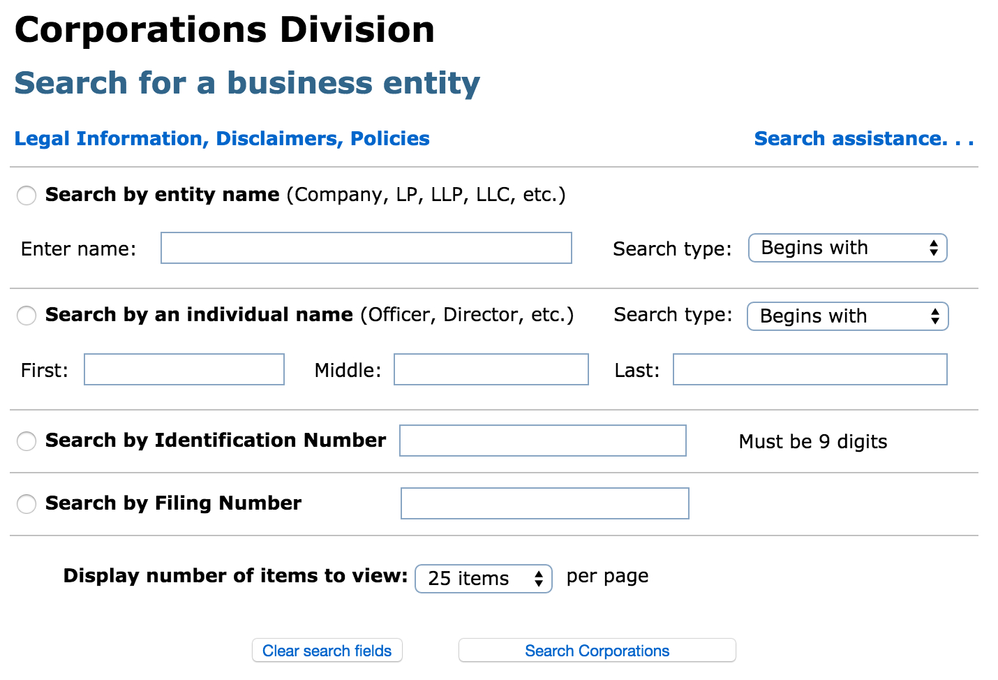 Massachusetts Business Entity Search | Corporation | Llc With Tax Id Lookup By Business Name