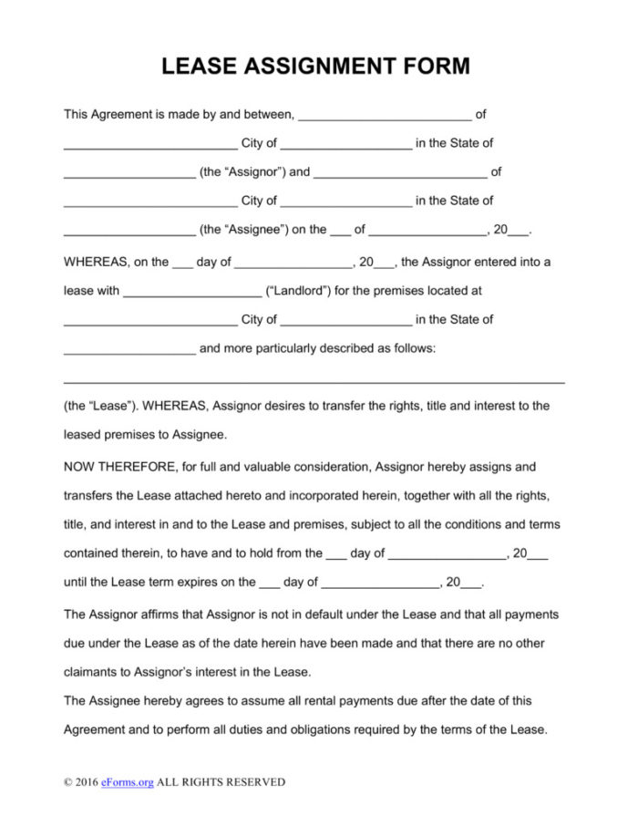 Oklahoma Grazing Lease Form
