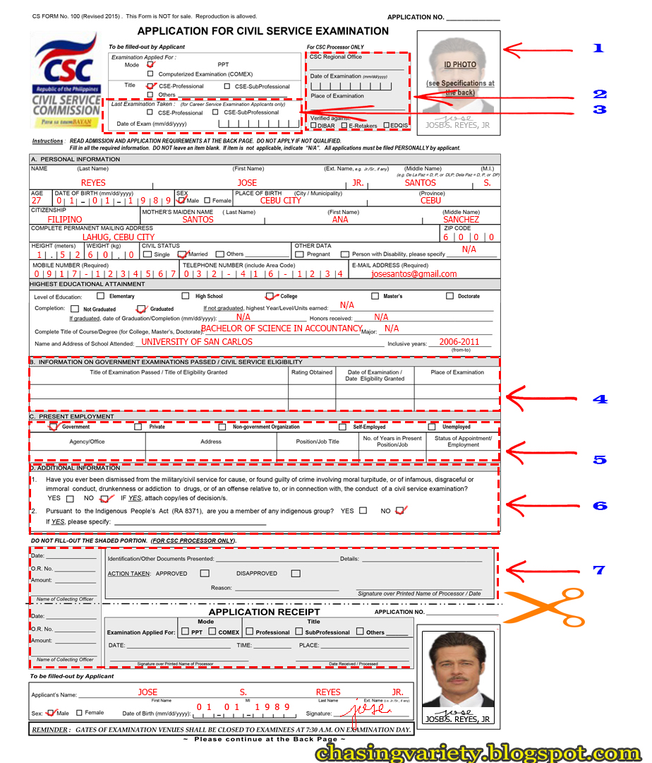 Online Csc Registration Form 2017