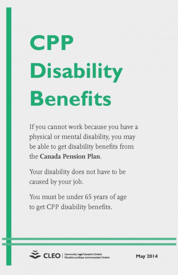 Ontario Disability Forms For Short Term