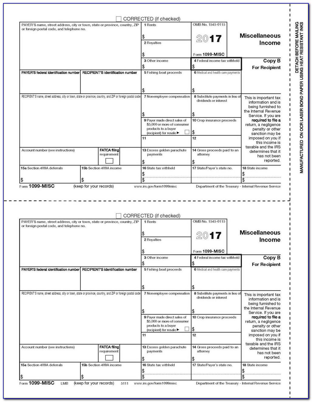 Order 1099 Misc Forms Online