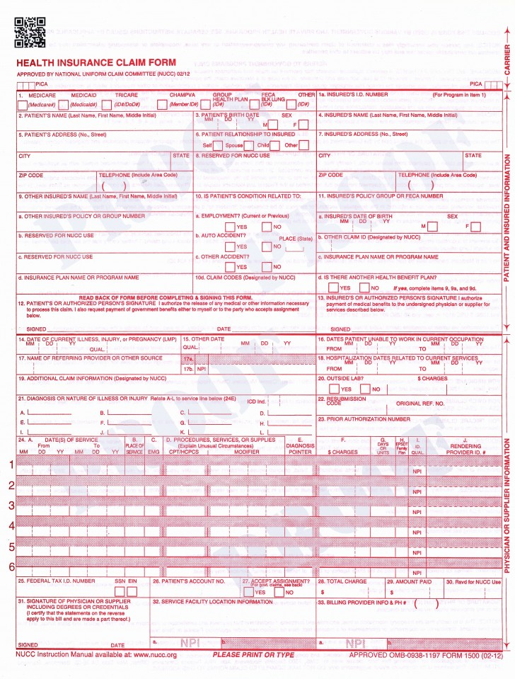 Order New Cms 1500 Forms