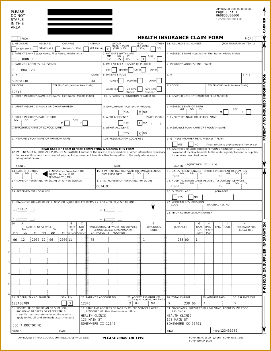 Ub 04 Form Template 94168 Forms Order Request Ub 04 Claim Form Instructions Form Healthcare