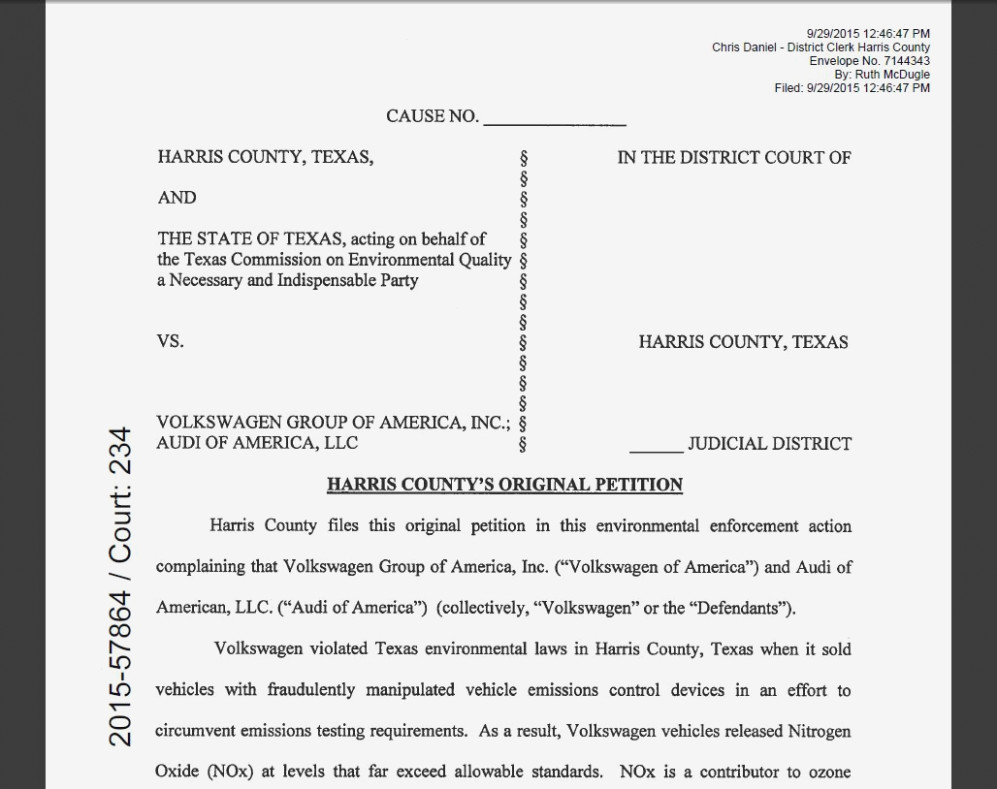 Original Petition For Divorce Harris County Form