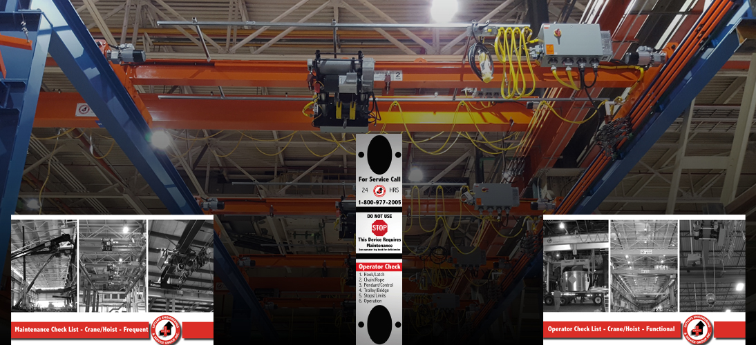 Overhead Crane Frequent Inspection Form