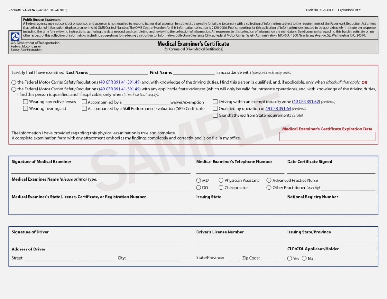 Pa Dot Medical Card Forms