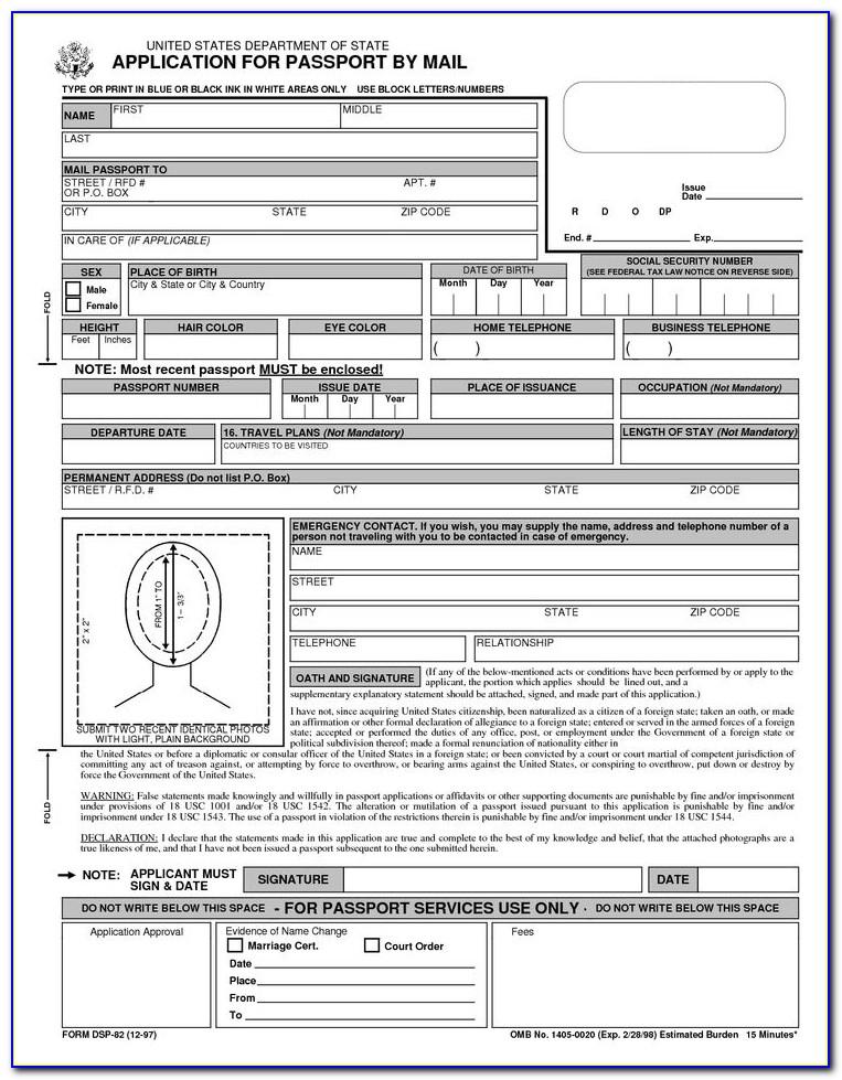 Passport Renewal Form Sri Lanka