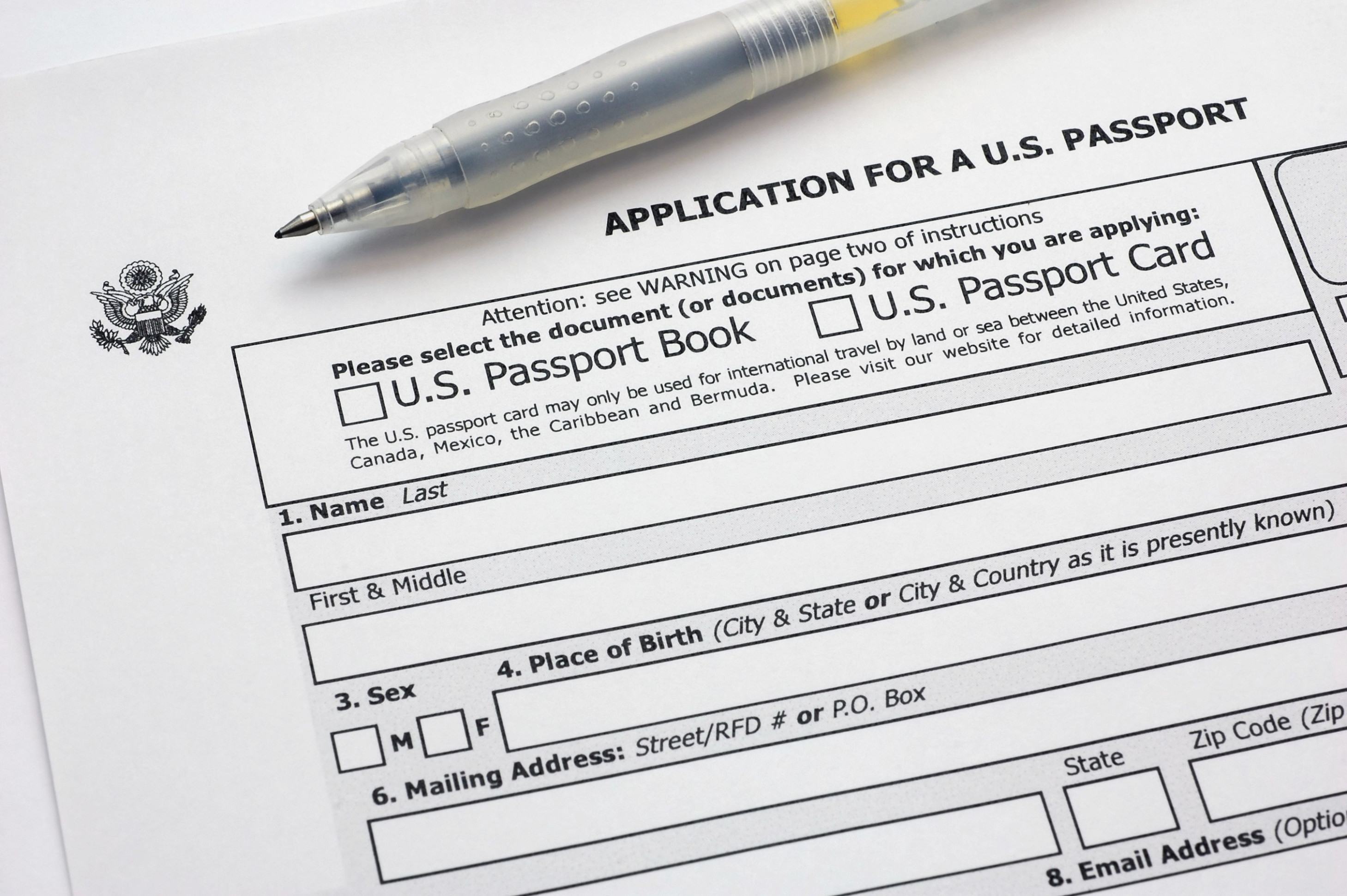 Passport Renewal Forms Post Office