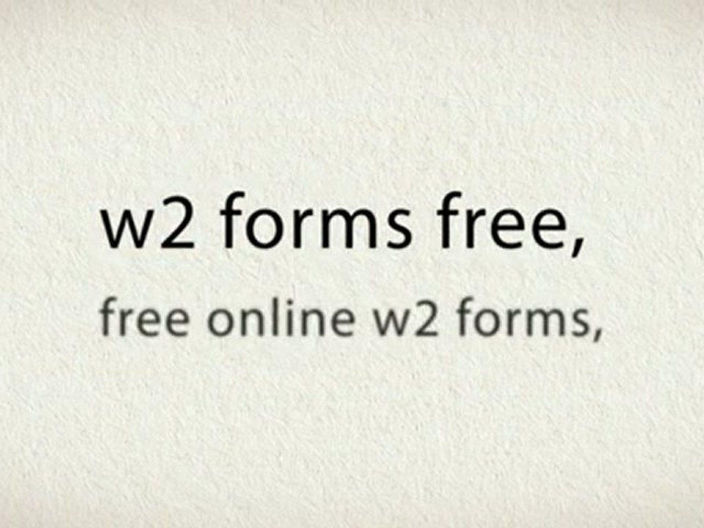 Past W2 Forms Online Free