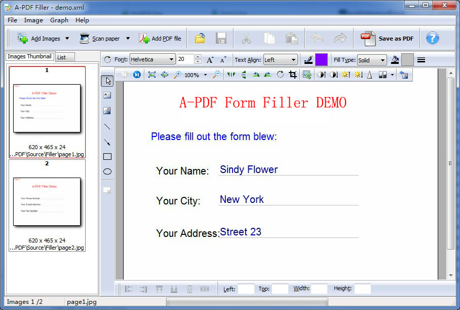 Pdf Form Filling Software Free Download