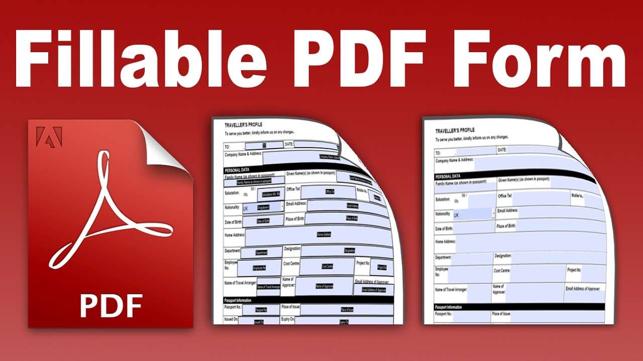 Pdf To Fillable Form Converter