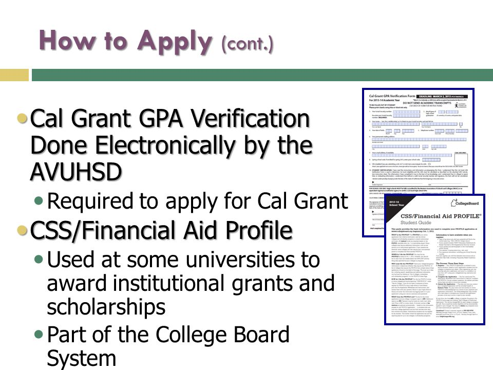 Pell Grant Gpa Verification Form
