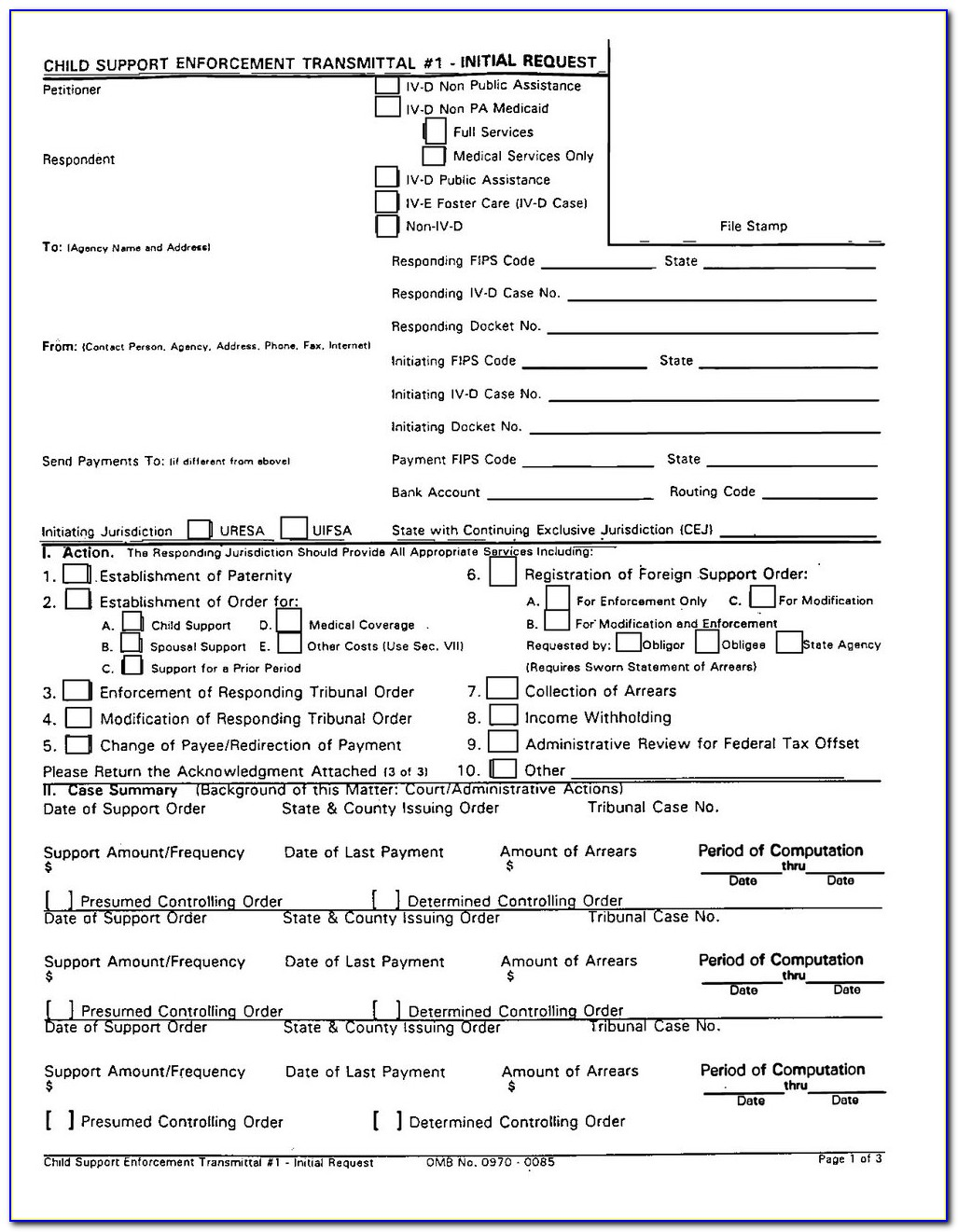 Petition For Divorce Forms Illinois