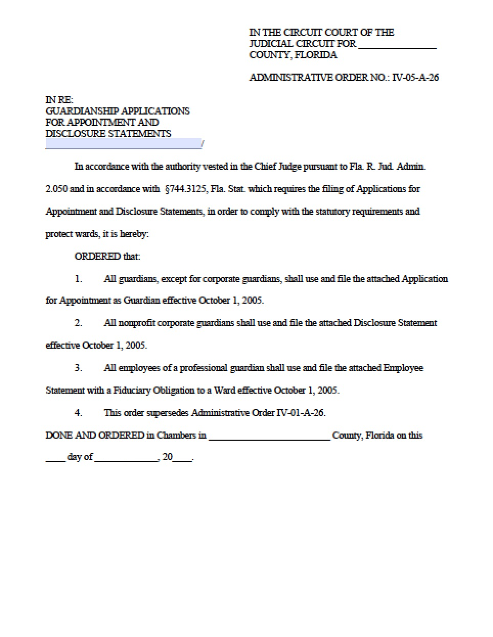 Petition For Guardianship Pennsylvania Form