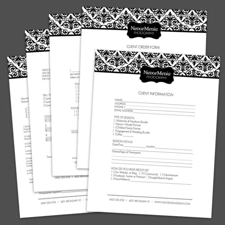 Photography Business Release Forms