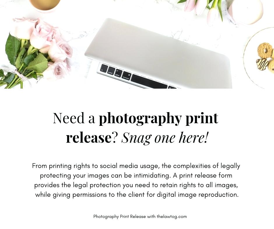 Photography Print Release Forms