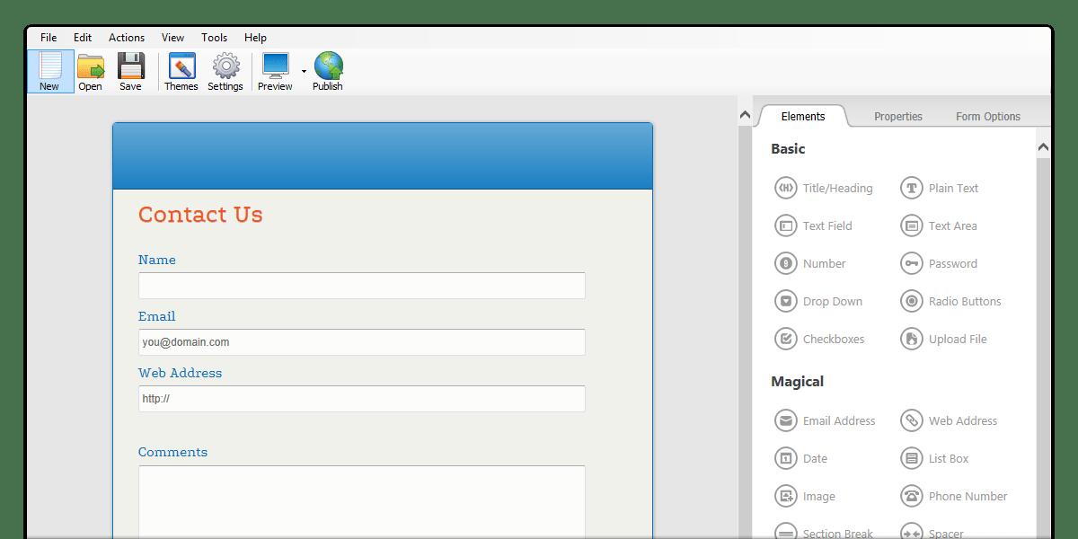 Php Form Builder Software
