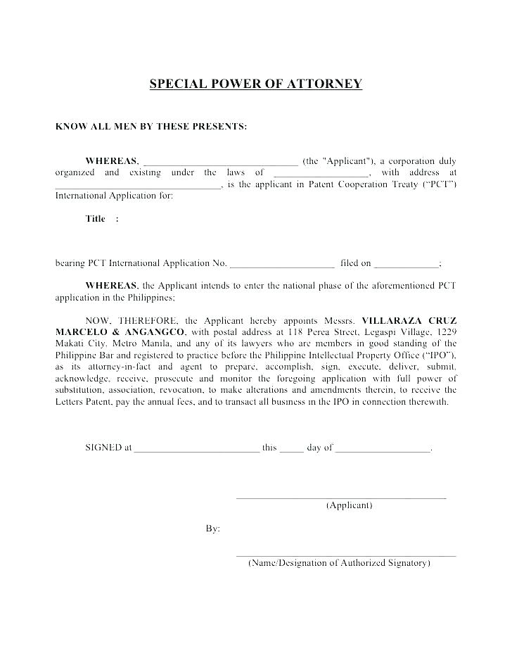 Power Of Attorney Indiana Form 1940