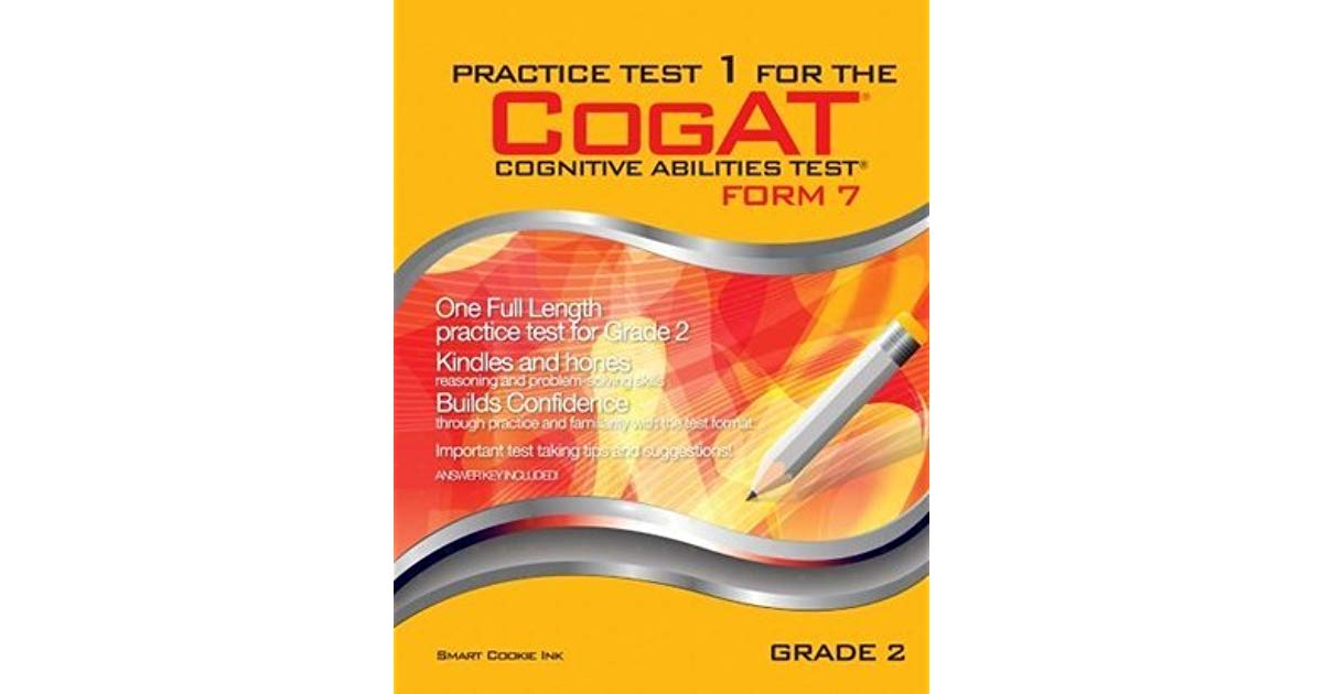 Practice Test For The Cogat Grade 2 Form 7 Level 8