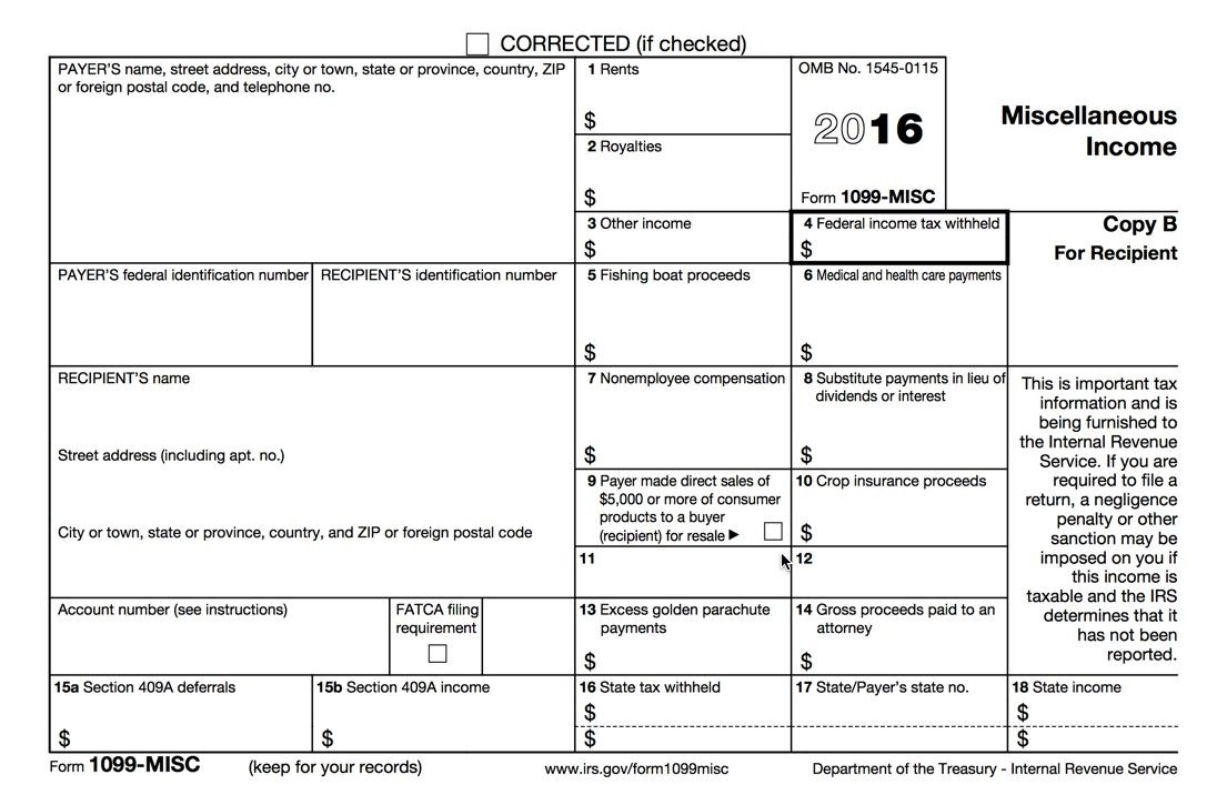 Print 1099 On Preprinted Forms