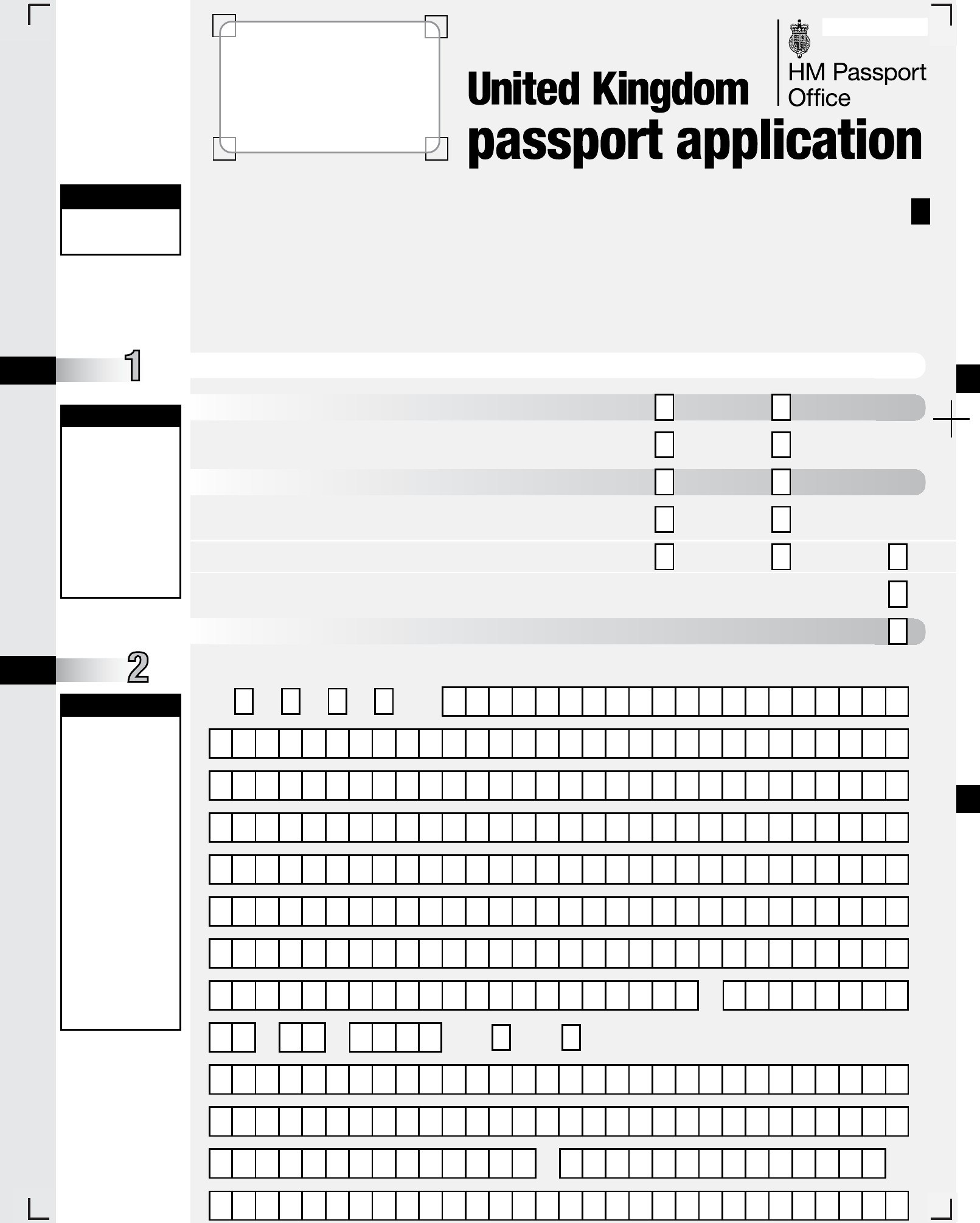 Print Out Passport Renewal Form