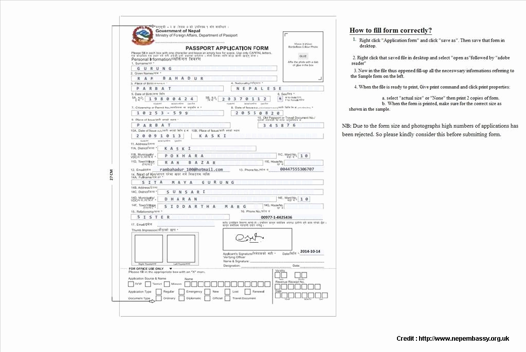 British Passport Application Form Download Application Form To Renew Passport Uk Form Resume