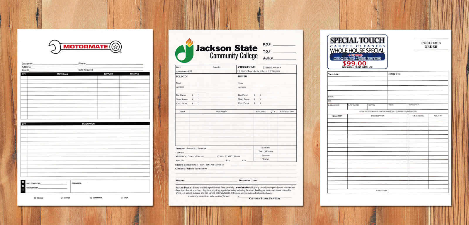 Print Your Own Carbonless Forms
