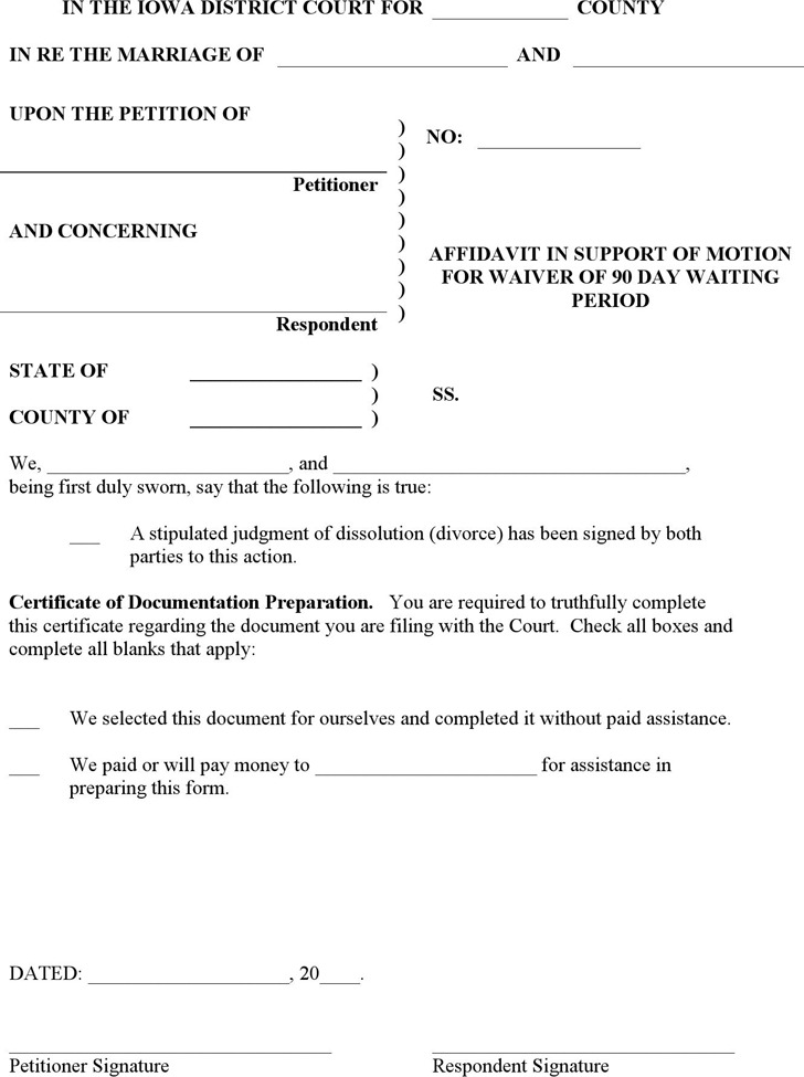 Printable Durable Power Of Attorney Form Iowa