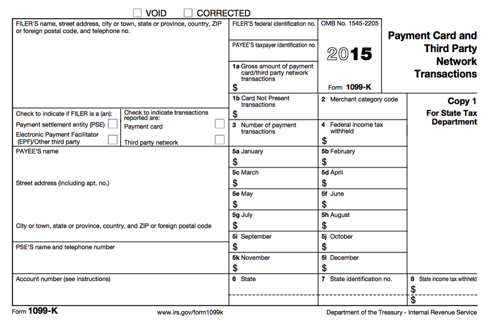 Printable Irs 1099 Form 2016