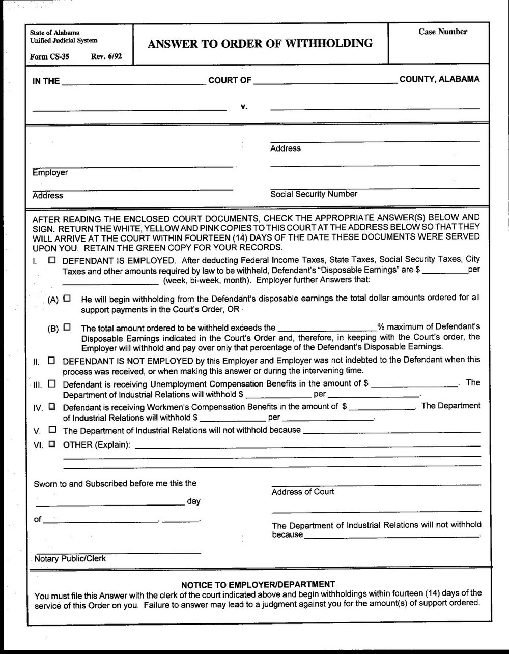 Divorce Forms Washington State