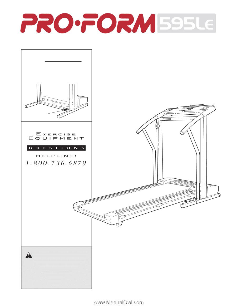 Proform 595le Treadmill Specs