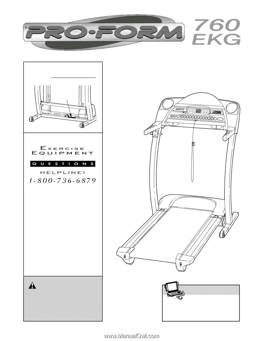 Proform 760 Ekg