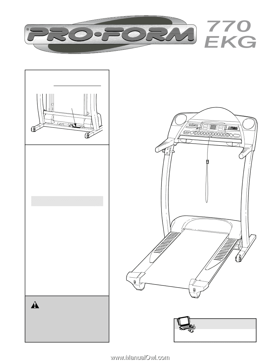 Proform 770 Ekg Treadmill