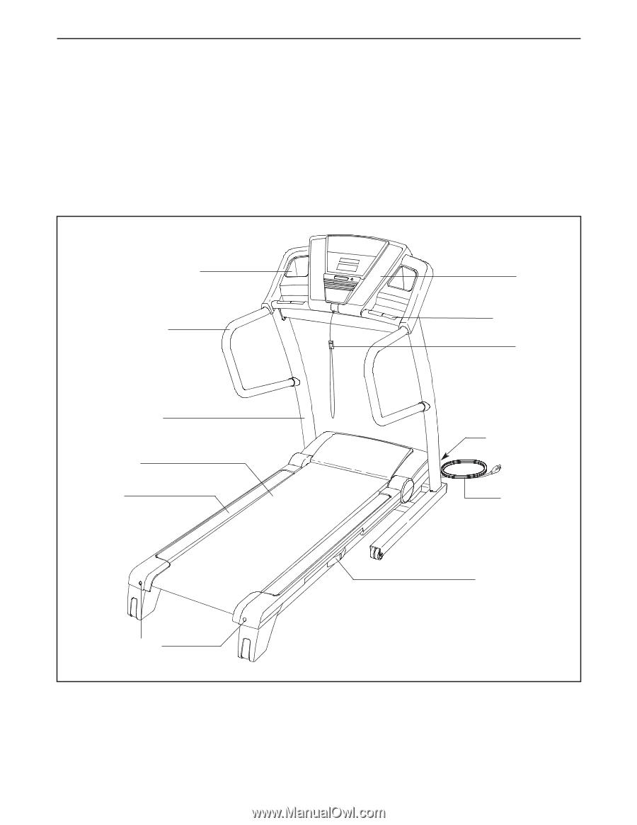 Proform 785 Treadmill Manual