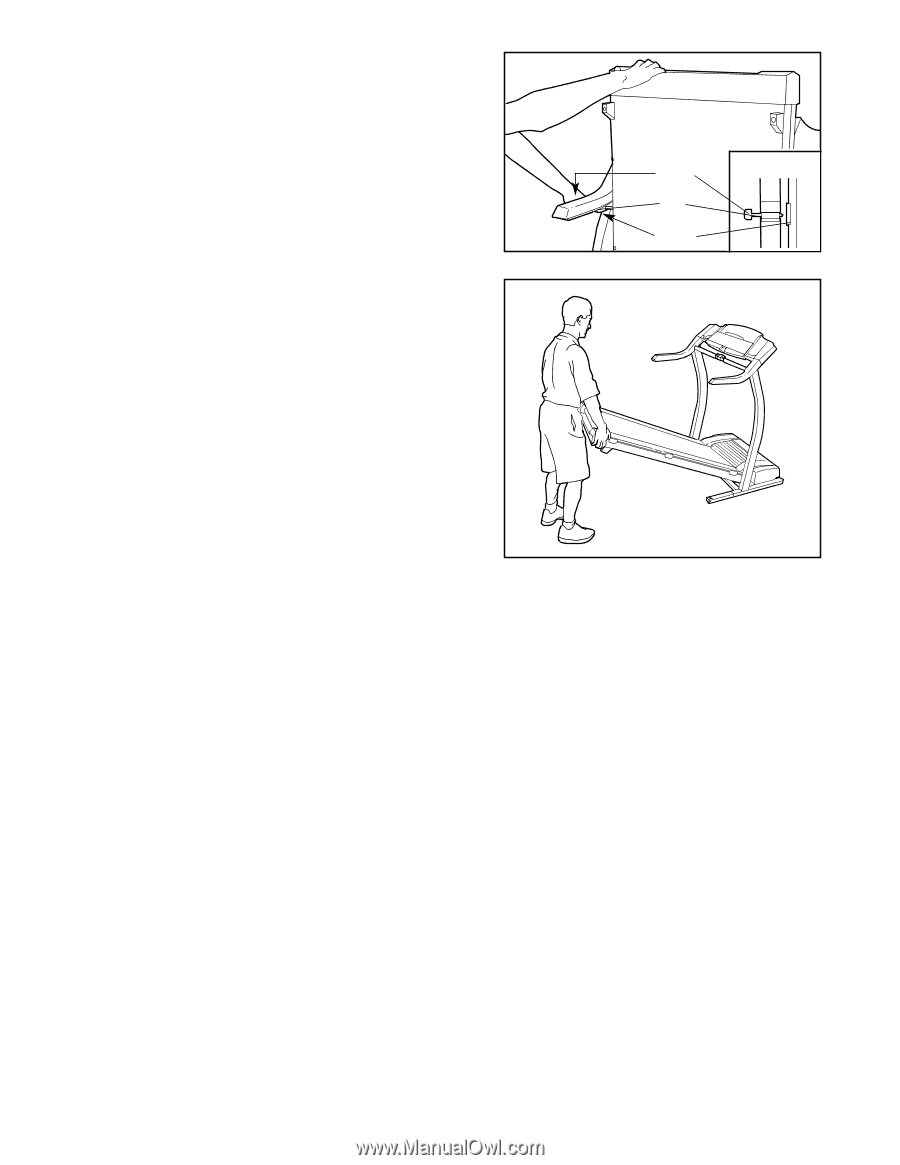 Proform 860 Treadmill Manual