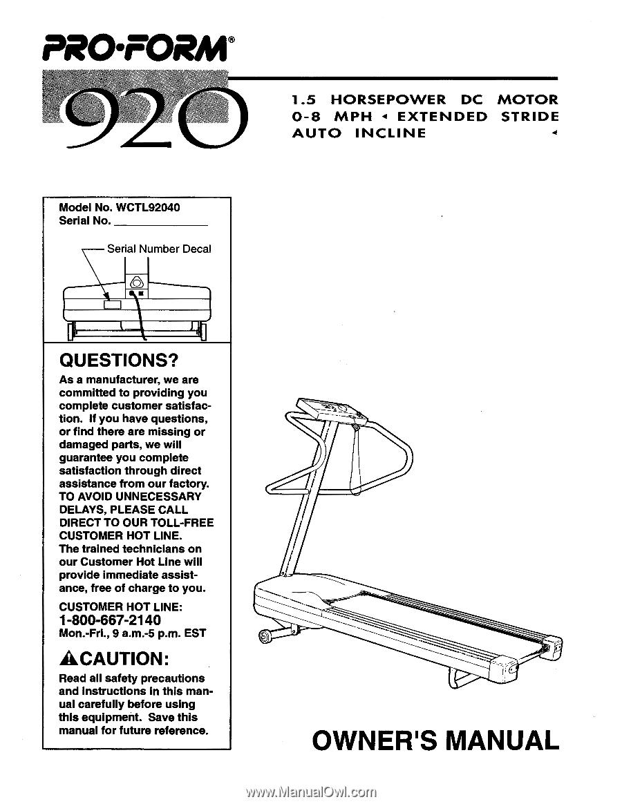 Proform 920