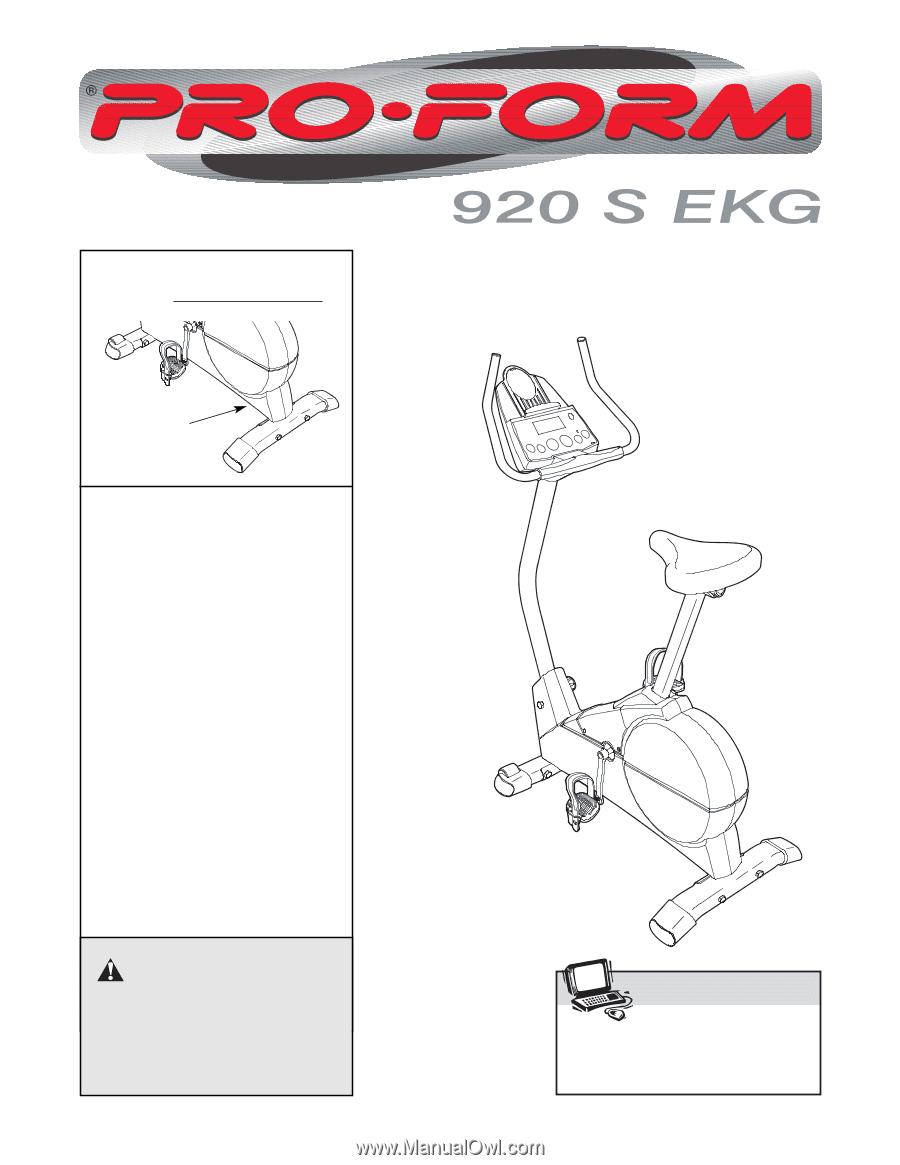 Proform 920s Ekg