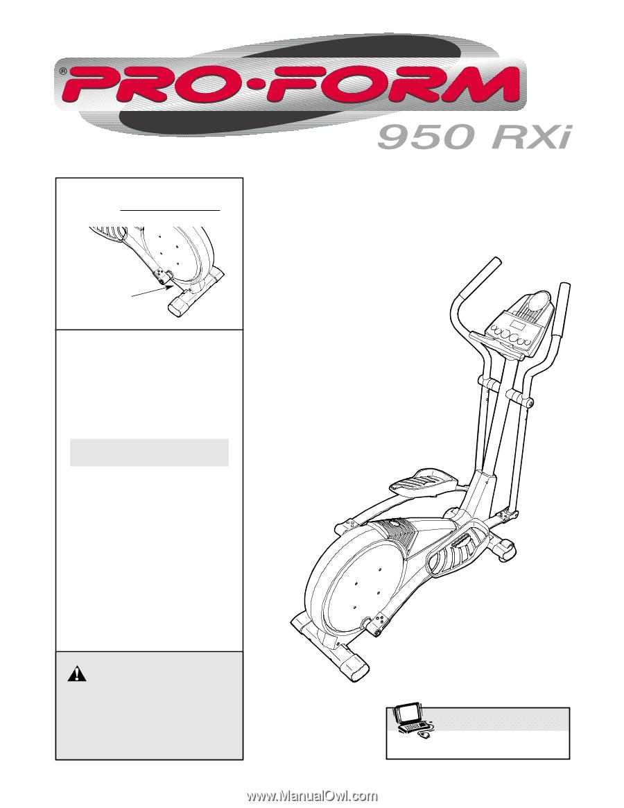 Proform 950 Rxi