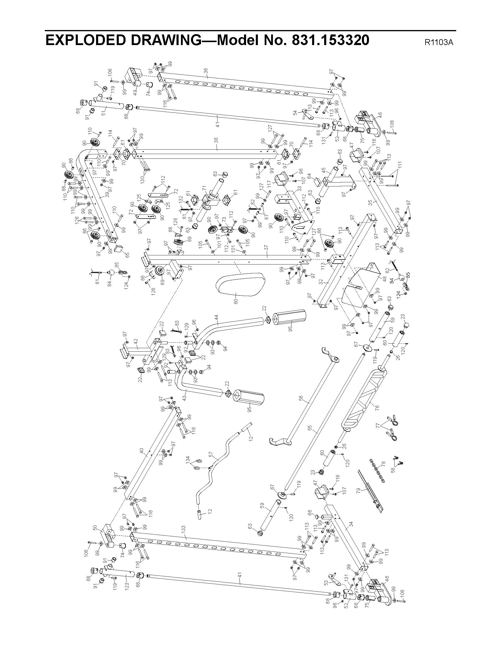 Proform C840 Parts