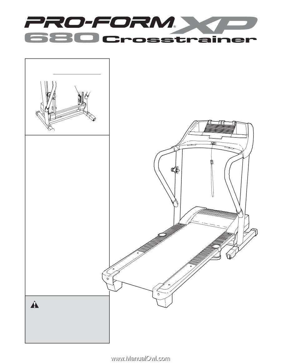 Proform Crosstrainer Treadmill