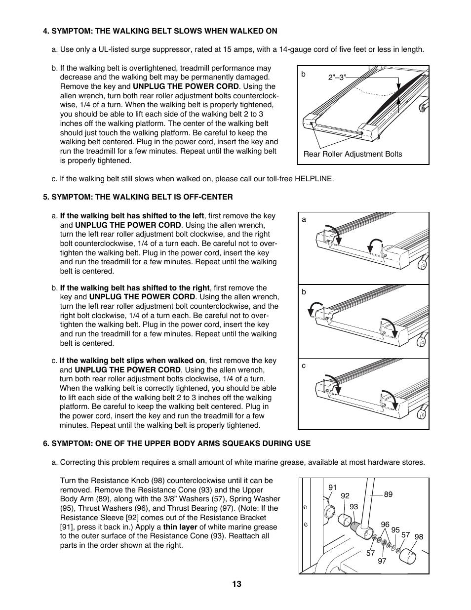 Proform Crosswalk 395cw Manual