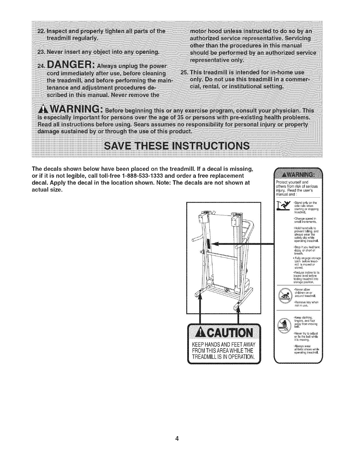 Proform Crosswalk 405e User Manual