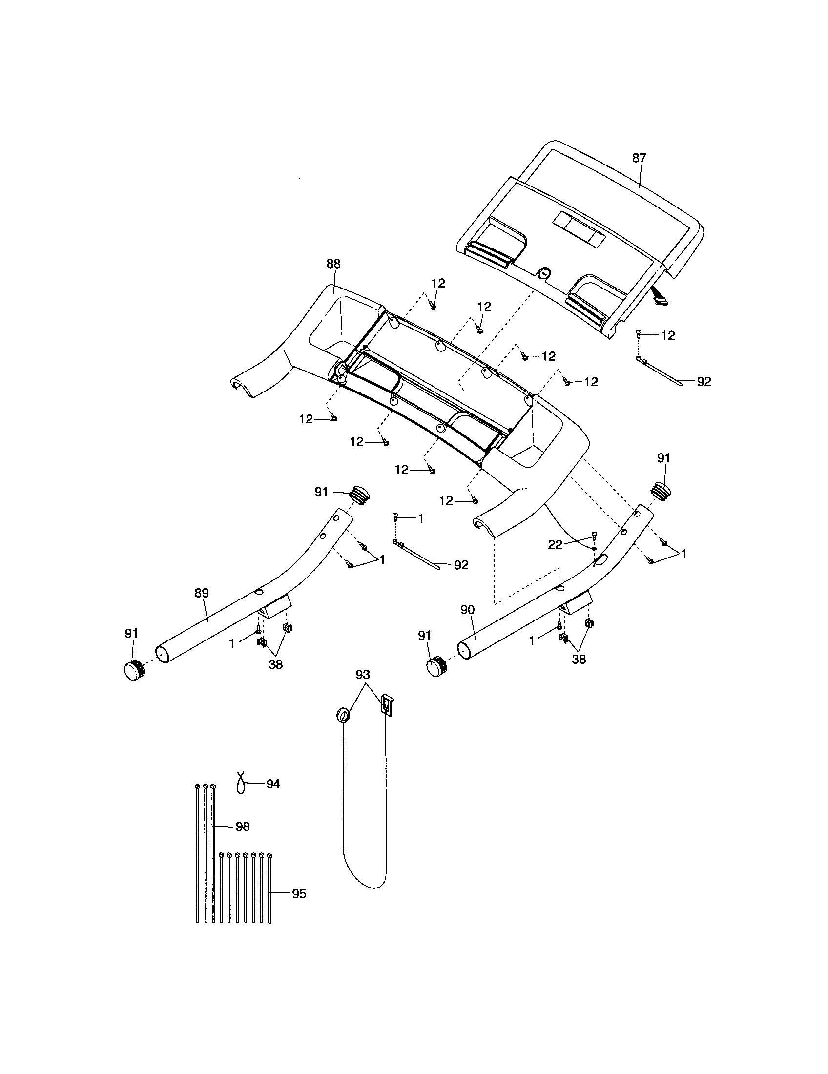 Proform Treadmill Parts List