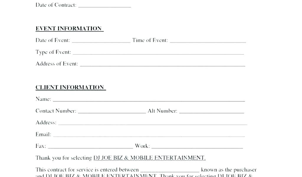 Proforma Invoice Blank Form