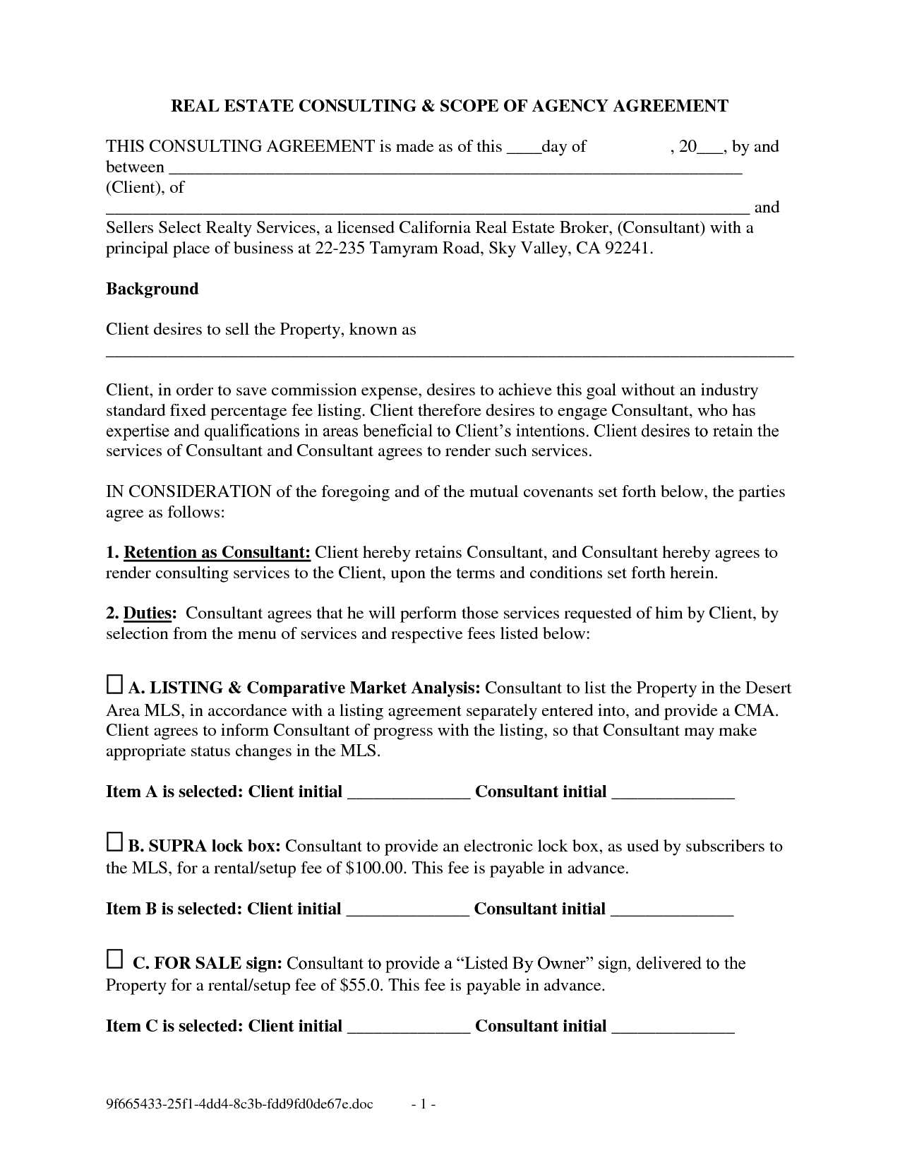 Property Buyout Agreement Form 99668 Free Printable Real Estate Purchase Agreement Solnet Sy