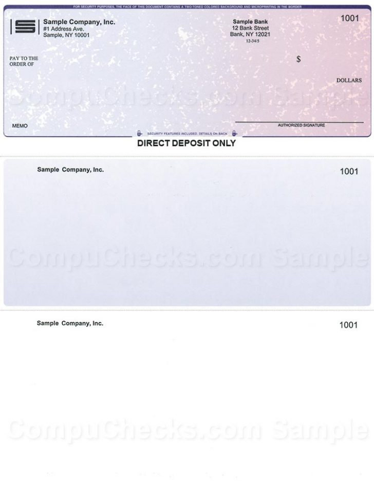 Quickbooks Payroll Direct Deposit Authorization Form